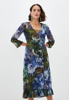 Платье, Patrizia Pepe, цвет: мультиколор. Артикул: PA748EWKMPV5. Premium