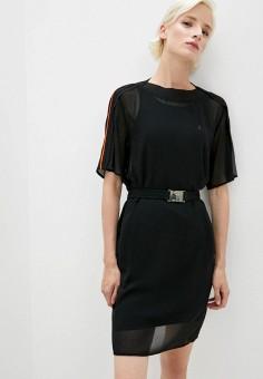 Платье, Patrizia Pepe, цвет: черный. Артикул: PA748EWKMPV8. Premium