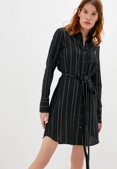 Платье, Patrizia Pepe, цвет: черный. Артикул: PA748EWKMPW3. Premium