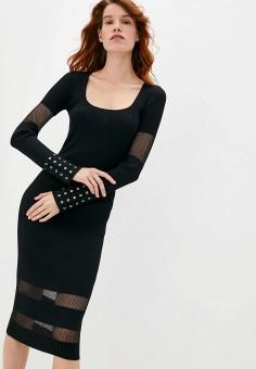 Платье, Patrizia Pepe, цвет: черный. Артикул: PA748EWKMPW5. Premium