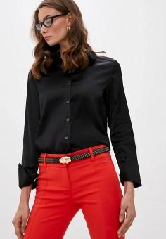 Блуза, Patrizia Pepe, цвет: черный. Артикул: PA748EWKMQE7.