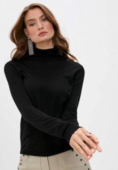 Водолазка, Patrizia Pepe, цвет: черный. Артикул: PA748EWKMQJ3. Одежда / Джемперы, свитеры и кардиганы / Водолазки