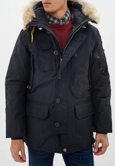 Пуховик, Parajumpers, цвет: черный. Артикул: PA997EMGBZI1. Одежда / Верхняя одежда / Пуховики и зимние куртки
