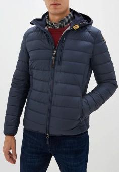 Пуховик, Parajumpers, цвет: синий. Артикул: PA997EMGBZJ0. Одежда / Верхняя одежда / Пуховики и зимние куртки