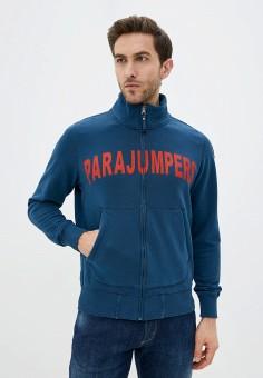 Олимпийка, Parajumpers, цвет: синий. Артикул: PA997EMHGZF4.