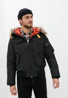 Пуховик, Parajumpers, цвет: черный. Артикул: PA997EMJSPJ0. Одежда / Верхняя одежда / Пуховики и зимние куртки