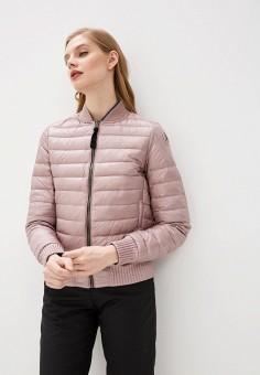 Пуховик, Parajumpers, цвет: розовый, хаки. Артикул: PA997EWHGZD7.