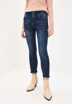 Джинсы, PDK, цвет: синий. Артикул: PD001EWHMOP6. Одежда / Джинсы / Узкие джинсы