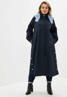 Плащ, Persona by Marina Rinaldi, цвет: синий. Артикул: PE025EWHQRS3. Одежда / Верхняя одежда / Плащи и тренчи