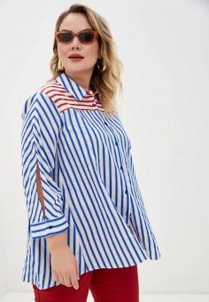 Рубашка, Persona by Marina Rinaldi, цвет: белый. Артикул: PE025EWHQSB2. Одежда / Блузы и рубашки / Рубашки