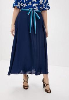 Юбка, Persona by Marina Rinaldi, цвет: синий. Артикул: PE025EWHQSK7. Одежда / Юбки