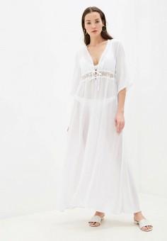 Туника пляжная, Phax, цвет: белый. Артикул: PH006EWHVYL5. Одежда / Купальники и пляжная одежда
