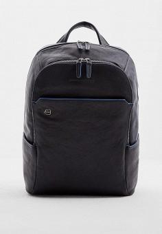 Рюкзак, Piquadro, цвет: синий. Артикул: PI016BMBFWW1. Аксессуары / Рюкзаки