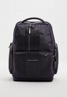 Рюкзак, Piquadro, цвет: синий. Артикул: PI016BMBGFJ9. Аксессуары / Рюкзаки