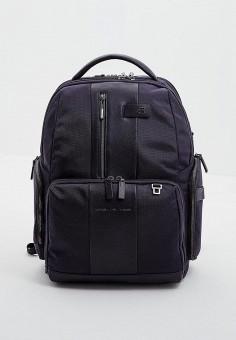 Рюкзак, Piquadro, цвет: синий. Артикул: PI016BMDGNL5. Аксессуары / Рюкзаки
