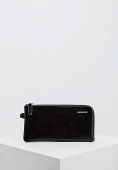 Кошелек, Piquadro, цвет: черный. Артикул: PI016BMFAAC9.