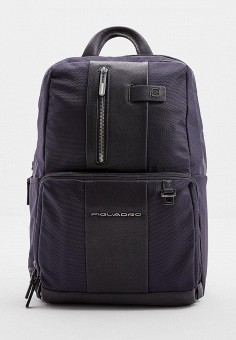 Рюкзак, Piquadro, цвет: синий. Артикул: PI016BMFZDM9.