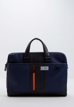 Сумка, Piquadro, цвет: синий. Артикул: PI016BMGAEL5.