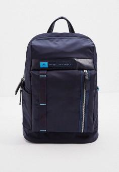 Рюкзак, Piquadro, цвет: синий. Артикул: PI016BMHYZF6.