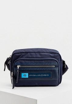 Сумка, Piquadro, цвет: синий. Артикул: PI016BMHYZF8.