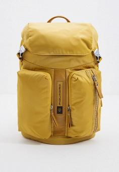 Рюкзак, Piquadro, цвет: желтый. Артикул: PI016BMHYZG2.