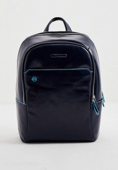 Рюкзак, Piquadro, цвет: синий. Артикул: PI016BMJDGC2. Аксессуары / Рюкзаки