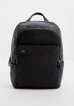 Рюкзак, Piquadro, цвет: черный. Артикул: PI016BMJDGC7. Аксессуары / Рюкзаки