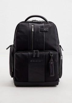 Рюкзак, Piquadro, цвет: черный. Артикул: PI016BMJDGD4.