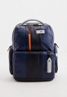 Рюкзак, Piquadro, цвет: синий. Артикул: PI016BMJDGE4.
