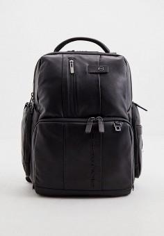 Рюкзак, Piquadro, цвет: черный. Артикул: PI016BMJDGE6.