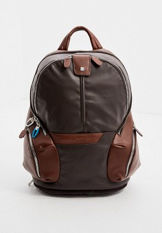 Рюкзак, Piquadro, цвет: коричневый. Артикул: PI016BMJKKQ7. Аксессуары / Рюкзаки