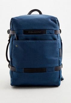 Рюкзак, Piquadro, цвет: синий. Артикул: PI016BMJKKW0.