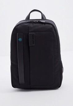 Рюкзак, Piquadro, цвет: черный. Артикул: PI016BMJUAQ8.