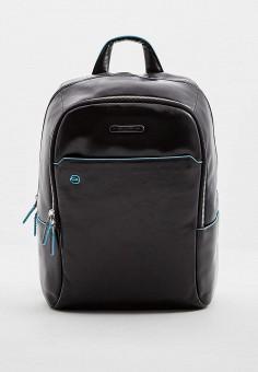 Рюкзак, Piquadro, цвет: черный. Артикул: PI016BMKFK30. Аксессуары / Рюкзаки