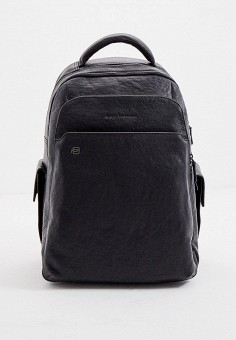Рюкзак, Piquadro, цвет: черный. Артикул: PI016BMKGOW4. Аксессуары / Рюкзаки