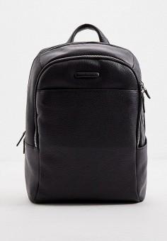 Рюкзак, Piquadro, цвет: черный. Артикул: PI016BMKGOY0. Аксессуары / Рюкзаки