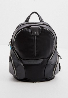Рюкзак, Piquadro, цвет: черный. Артикул: PI016BUJDGD7. Аксессуары / Рюкзаки