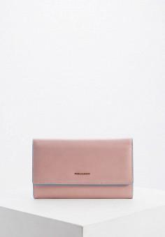 Кошелек, Piquadro, цвет: розовый. Артикул: PI016BWFAAE4.