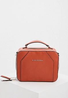Сумка, Piquadro, цвет: оранжевый. Артикул: PI016BWHEKQ5.