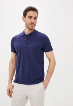 Поло, Piazza Italia, цвет: синий. Артикул: PI022EMIGSK6. Одежда
