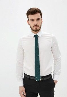 Рубашка, Piazza Italia, цвет: белый. Артикул: PI022EMIGSP6.