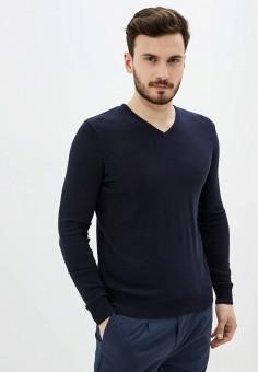Пуловер, Piazza Italia, цвет: синий. Артикул: PI022EMIGSQ3.