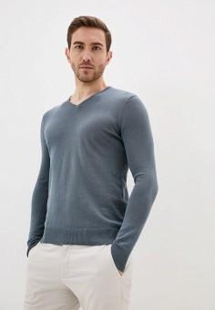 Пуловер, Piazza Italia, цвет: серый. Артикул: PI022EMIGSQ4.