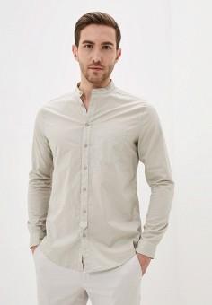 Рубашка, Piazza Italia, цвет: бежевый. Артикул: PI022EMIGSQ8.