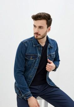Куртка джинсовая, Piazza Italia, цвет: синий. Артикул: PI022EMIGSS1.