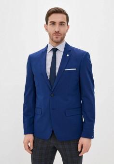 Пиджак, Piazza Italia, цвет: синий. Артикул: PI022EMIGST0.