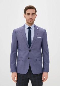 Пиджак, Piazza Italia, цвет: синий. Артикул: PI022EMIGST1.
