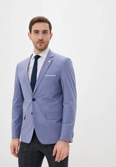 Пиджак, Piazza Italia, цвет: голубой. Артикул: PI022EMIGST3.