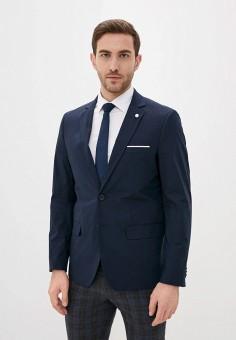 Пиджак, Piazza Italia, цвет: синий. Артикул: PI022EMIGST4.