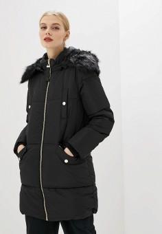 Куртка утепленная, Piazza Italia, цвет: черный. Артикул: PI022EWHFVO0.